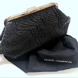 Dolce & Gabbana Embroidered Leather Mini B…